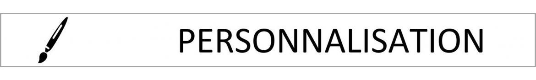 Personnalisations pour gilet lesté avec logo ou drapeau - LEVEL addict