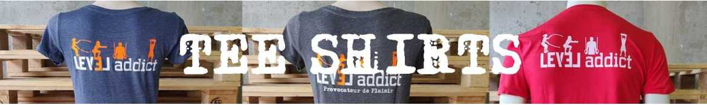 Tee-Shirt LEVEL addict