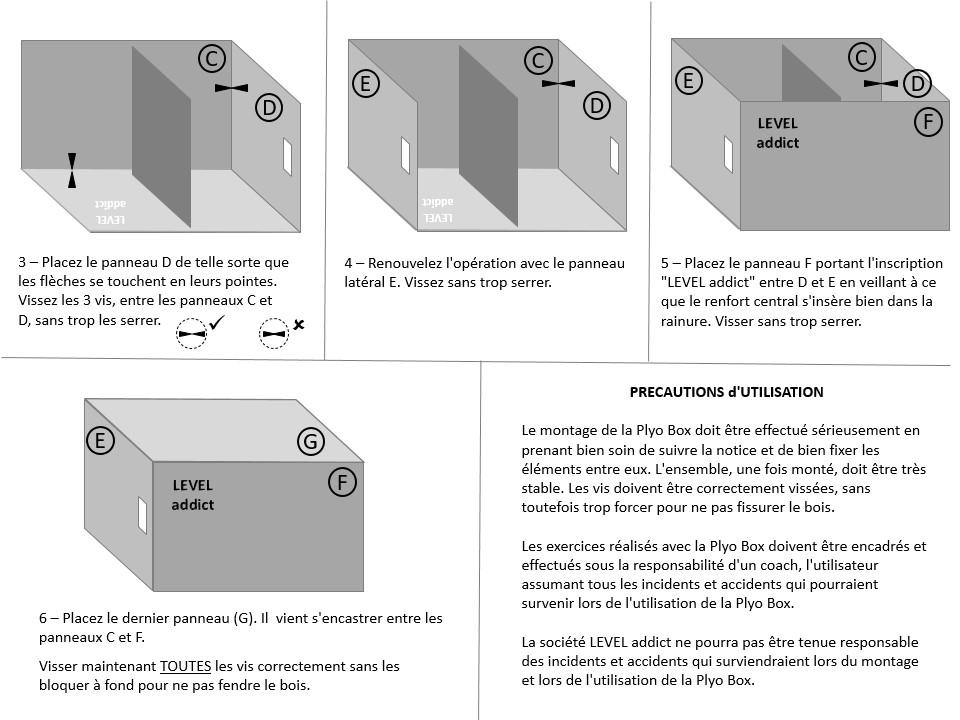 notice de montage Jump Box Level Addict p2