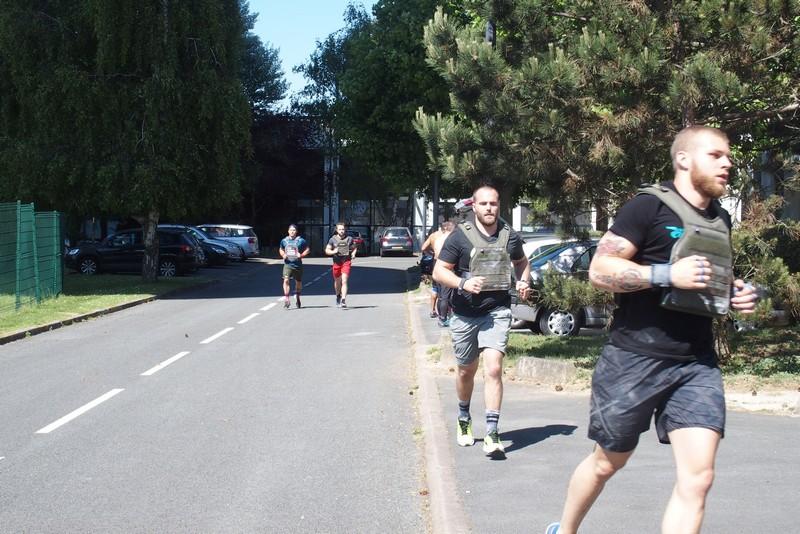 Running avec un gilet lesté