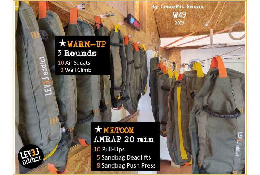 WOD 49-2019 au Sandbag