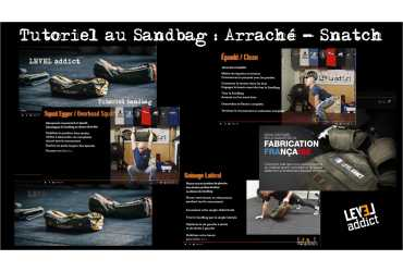 Tutoriel au Sandbag : Arraché / Snatch