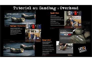 Tutoriel au Sandbag : Overhead squat