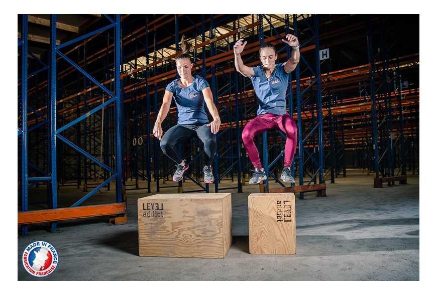 La Jump Box : comment utiliser ce gros cube en bois