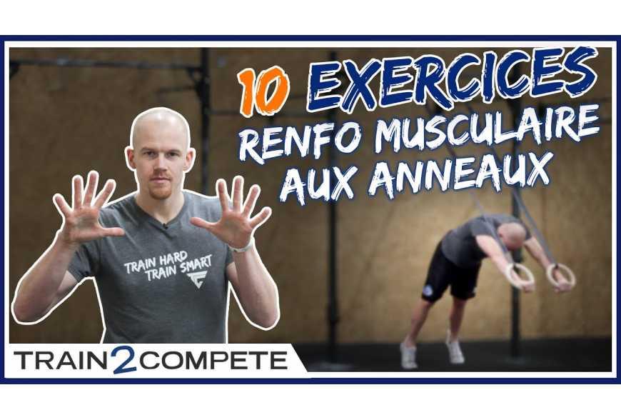 Exercices pour se muscler avec des anneaux - LEVEL addict