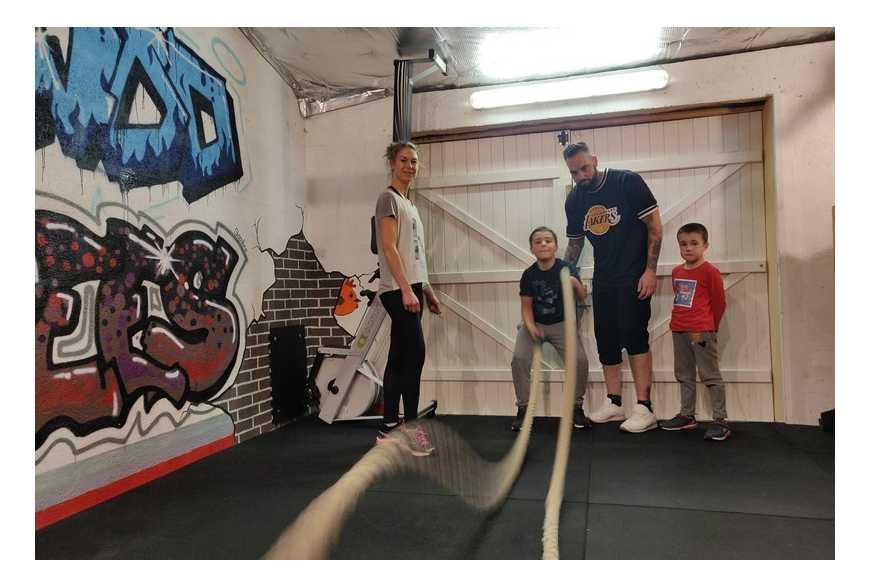 La Battle Rope, un sport à pratiquer en famille