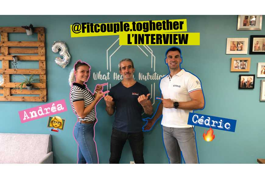 Fitcouple Together coachs - Interview LEVEL addict