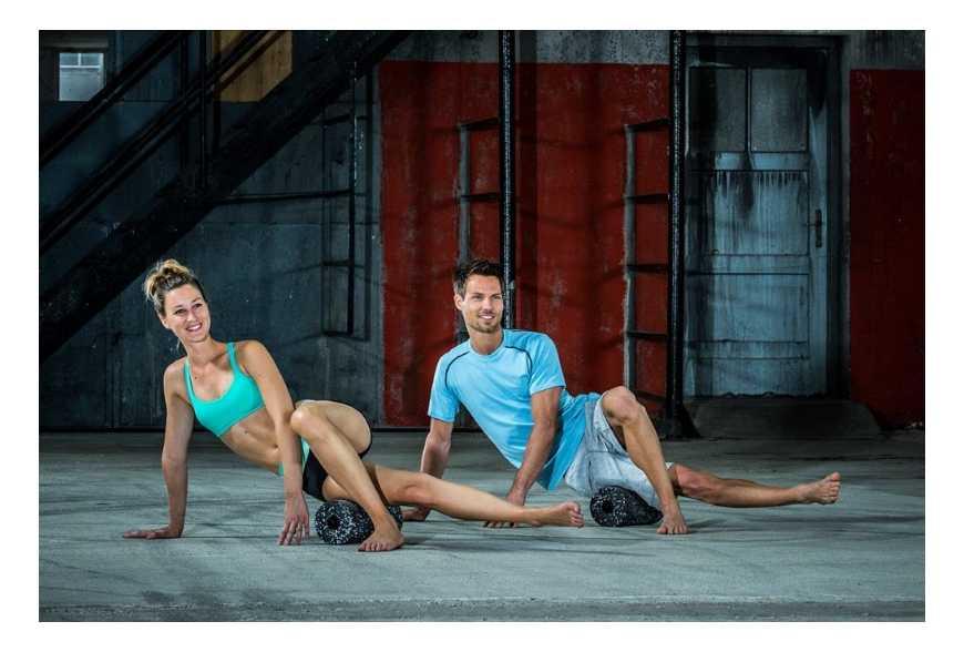 Évitez les courbatures grâce au rouleau de massage