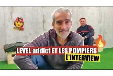 Cédric, pompier professionnel - Interview LEVEL addict #5