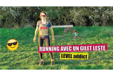 Running avec un Gilet lesté LEVEL addict