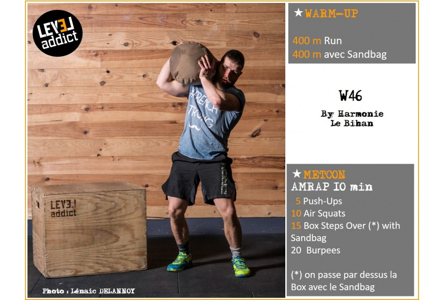 WOD 46 - Cédric is Strong