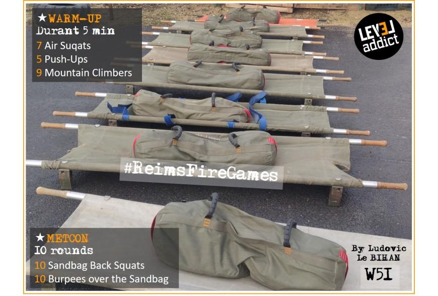 WOD 51 - Sandbags et brancards