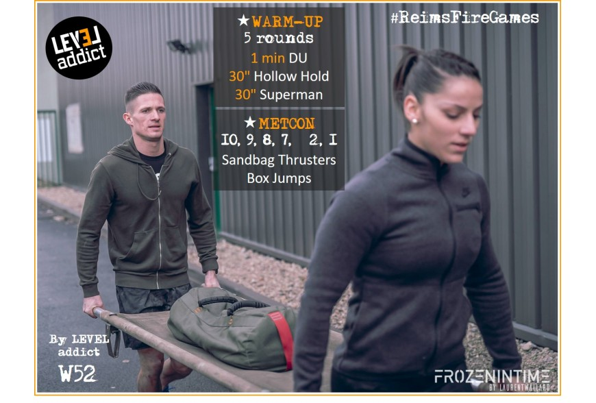 WOD 52 - Brancard en couple