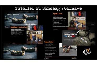 Gainage au Sandbag