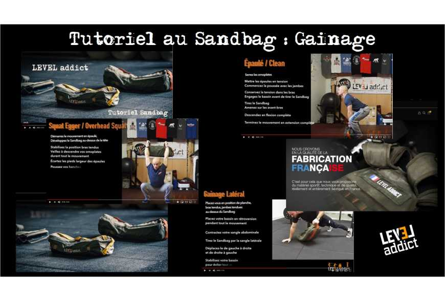 Tutoriel au Sandbag : Le gainage