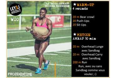 WOD 10-2019 ATHLETIC GIRL