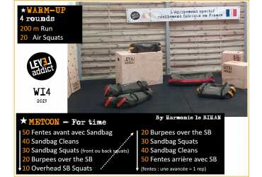 WOD 14 - 2019 - GARAGE GYM