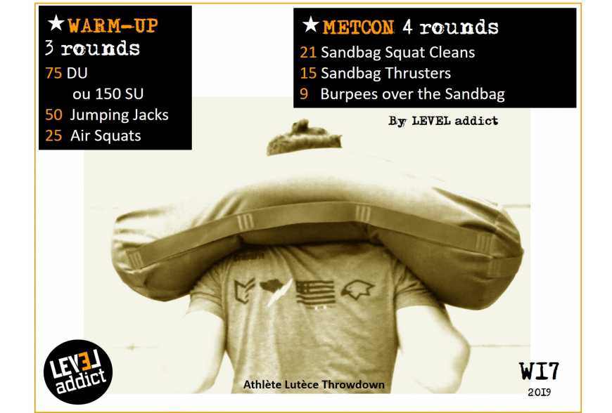 WOD 17-2019 BACK SQUAT