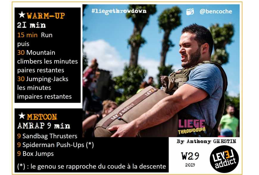 WOD 29-2019 LIEGE THROWDOWN