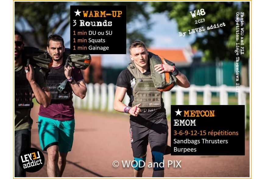 WOD 48-2019 au sandbag